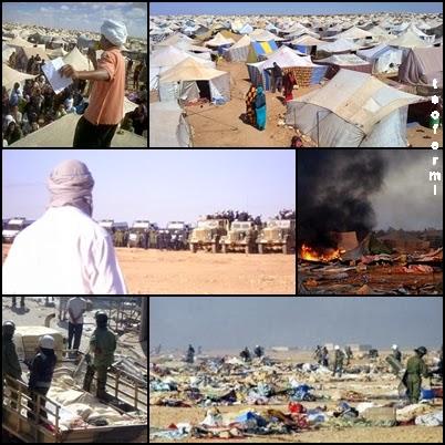 Resultado de imagen para gdeim izik el campamento de la resistencia saharaui