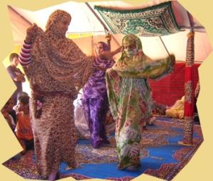 música saharaui haul baile