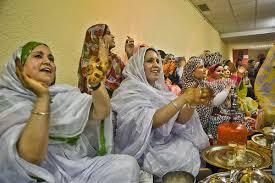 mujeres saharauis boda