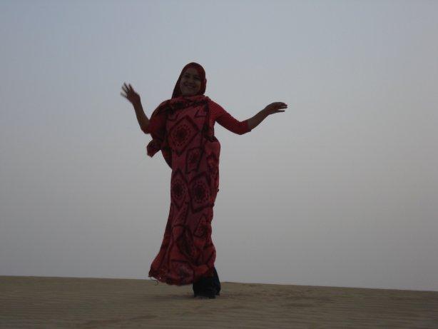 vestido saharaui