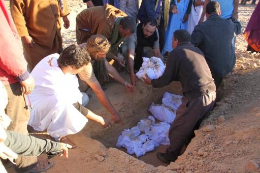fosas comunes sahara