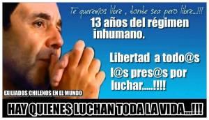 Preso politico Chileno ramiro