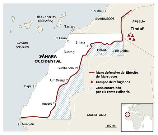 Muro sahara