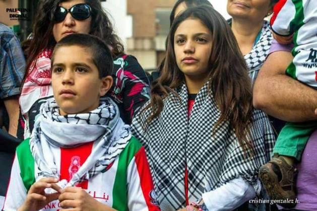 palestina hoy niños
