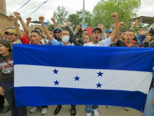 resistencia en Honduras