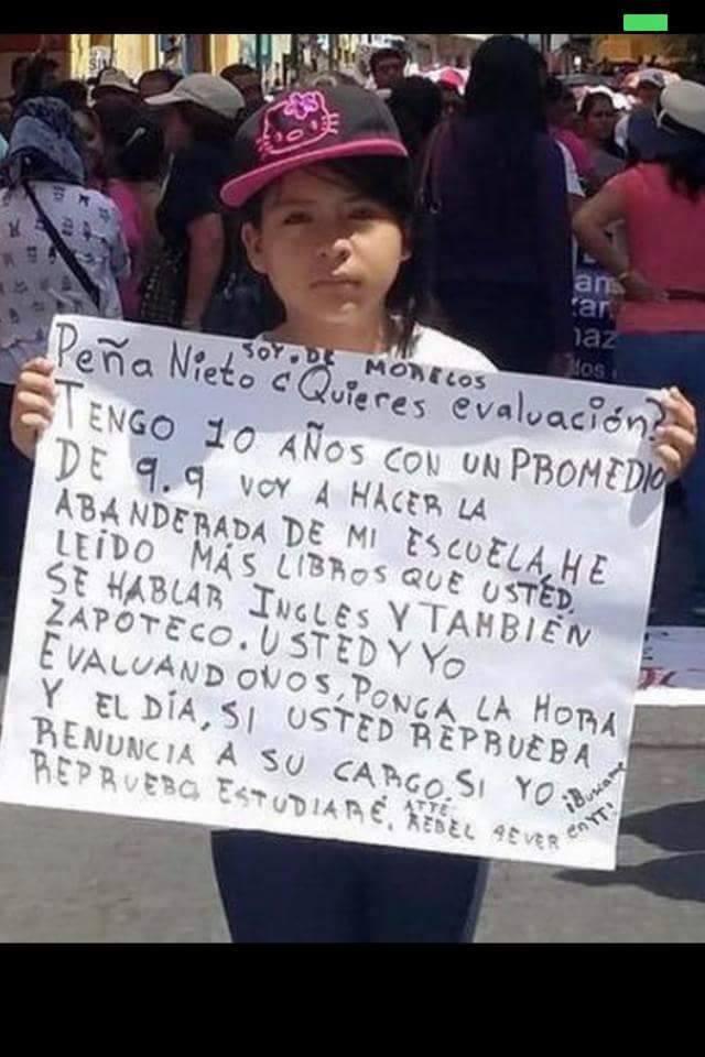 estudiante mexicana propuesta