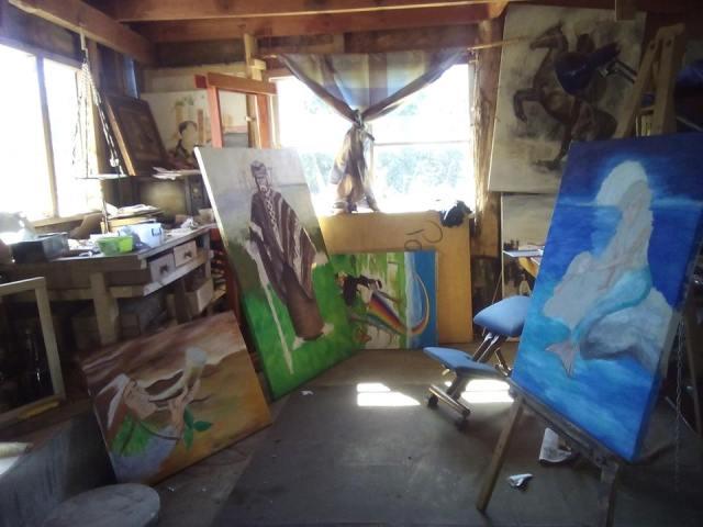 pintora mapuche Painemilla Ingrid