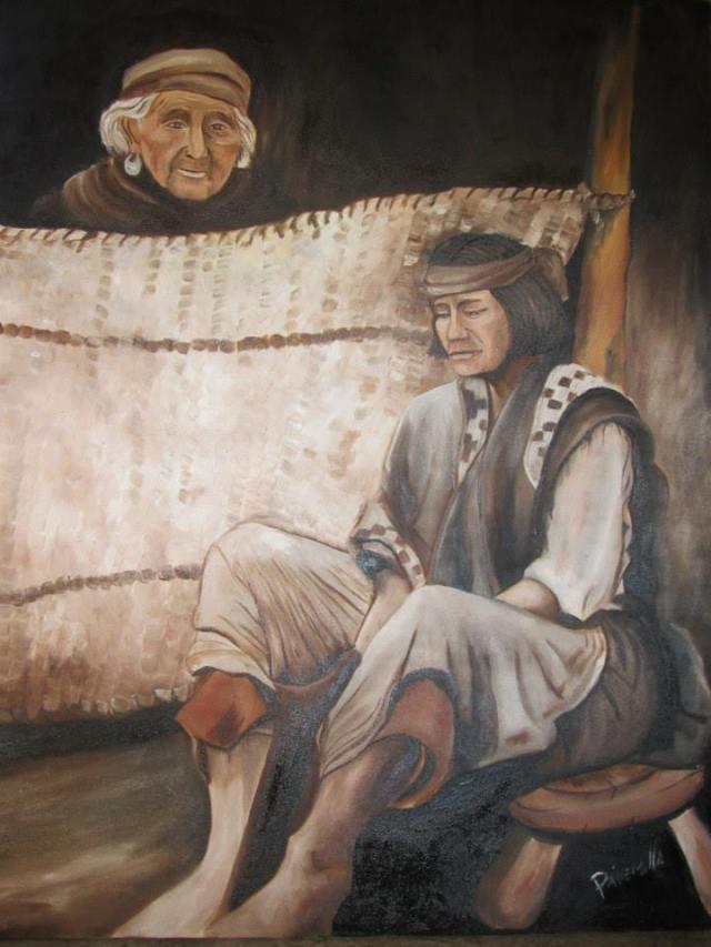 pintora mapuche Painemilla Ingrid2