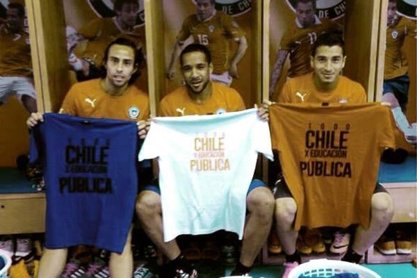 seleccionados futbol por educación publica