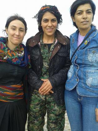 Viyan, Combatiente kurda caída en combate contra el ISIS