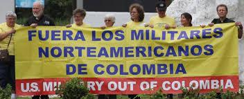 fuera militares de EEUU de Colombia
