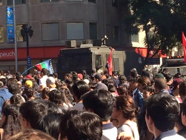 marcha estudiantil 11-4 Lastarria
